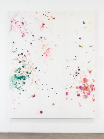 Dan Colen, Why don't we do it in the dumpster?, 2014, Gagosian
