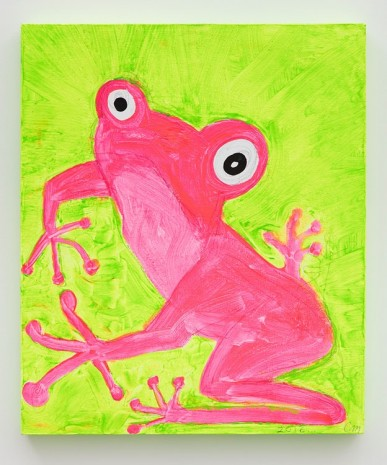 Chris Martin, Frog 2, 2016 , David Kordansky Gallery