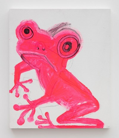 Chris Martin, Frog 3, 2016, David Kordansky Gallery
