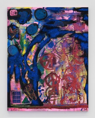 Chris Martin, If You Don't See It Ask For It, 2016, David Kordansky Gallery
