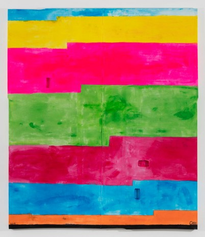 Chris Martin, Untitled, 2015, David Kordansky Gallery