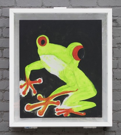 Chris Martin, Frog 1, 2016, David Kordansky Gallery