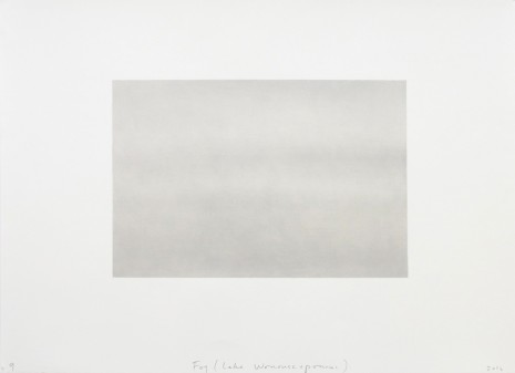 Spencer Finch, Fog (Lake Wononscopomac), 2016, Lisson Gallery