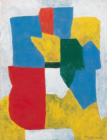 Serge Poliakoff, COMPOSITION ABSTRAITE, 1969, Cheim & Read