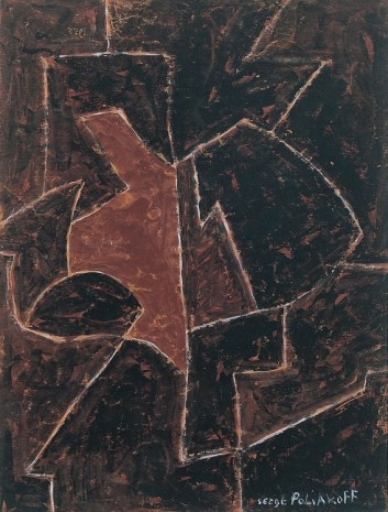 Serge Poliakoff, COMPOSITION ABSTRAITE, 1955 , Cheim & Read