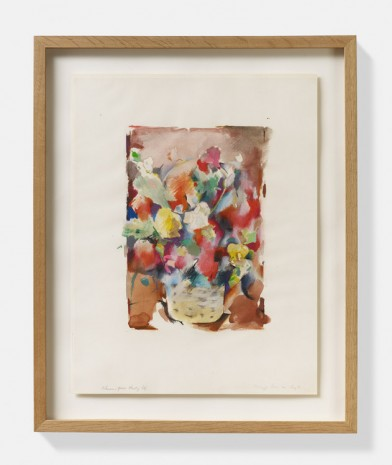 Richard Hamilton, Flower-piece study (a), 1971, David Zwirner