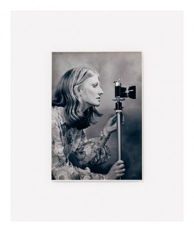 Anne Collier, Woman With A Camera (Profile), 2016, Anton Kern Gallery