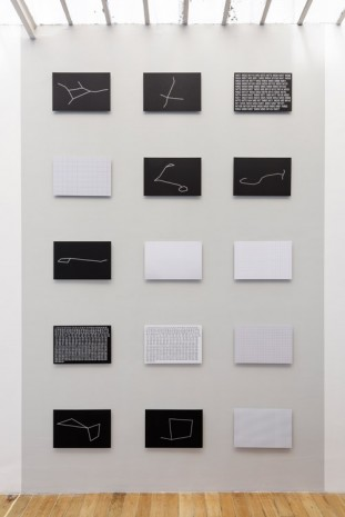 Sean Snyder, Algorithmic Sketches, 2016, Galerie Chantal Crousel