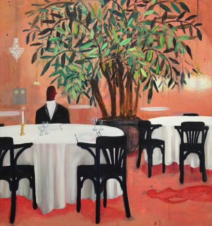 Ben Sledsens, Dinner for two, 2015, Tim Van Laere Gallery