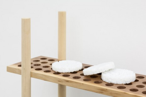 Anthea Hamilton, Rice Cakes (detail), 2015, Office Baroque
