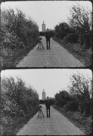 Bas Jan Ader, Broken fall (geometric), Westkapelle, Holland, 1971, Simon Lee Gallery