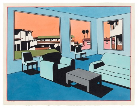 Ken Price, Blue Interior, 1993 , Matthew Marks Gallery