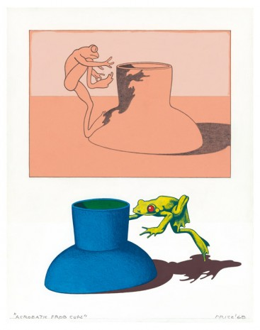 Ken Price, Acrobatic Frog Cups, 1968 , Matthew Marks Gallery