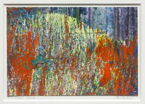 Gerhard Richter, 29. Nov. 2014, 2014, Marian Goodman Gallery