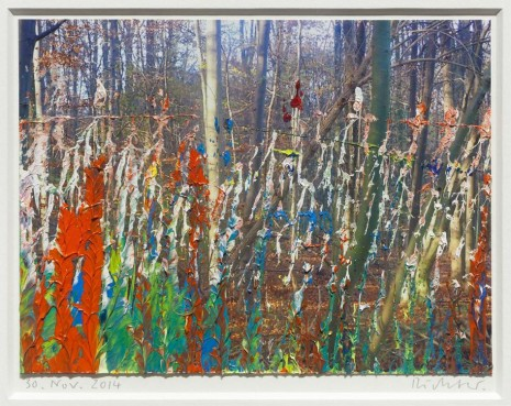 Gerhard Richter, 30. Nov. 2014, 2014, Marian Goodman Gallery