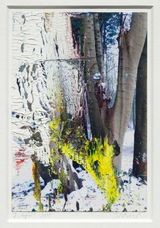 Gerhard Richter, 7. Apr. 2015, 2015, Marian Goodman Gallery