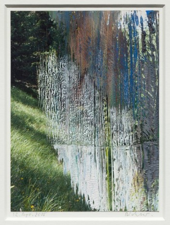 Gerhard Richter, 12. Apr. 2015, 2015, Marian Goodman Gallery