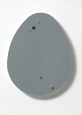 Thomas Grünfeld, Untitled (Egg / grey), 2016, Massimo De Carlo