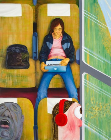 Nicole Eisenman, Weeks on the Train, 2015 , Anton Kern Gallery