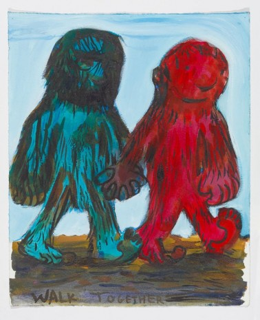Nicole Eisenman, Walk Together, 2016, Anton Kern Gallery