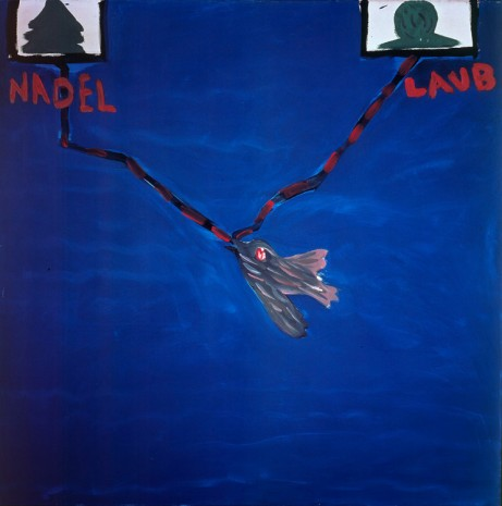 Jörg Immendorff, Nadel-Laub (Needle-Leaves), 1965, Michael Werner