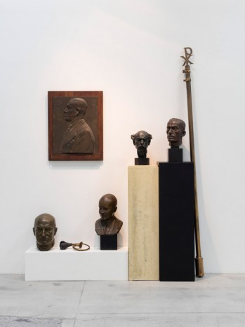 Guillaume Bijl, Composition Trouvée, 1992, Galleri Nicolai Wallner