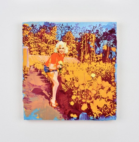 Ida Tursic & Wilfried Mille, Marylin between flowers, 2016, Almine Rech