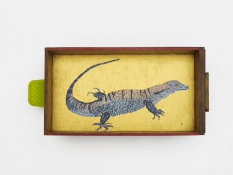 Lubaina Himid, Tegu Lizard, 2015 , Hollybush Gardens
