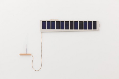 Haroon Mirza, Solar Cell Circuit 1, 2014, Kate MacGarry