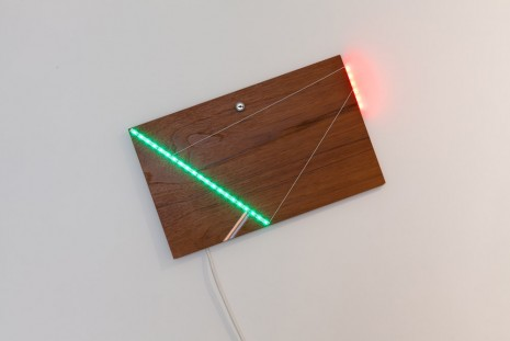Haroon Mirza, LED Circuit Composition 9, 2014, Kate MacGarry