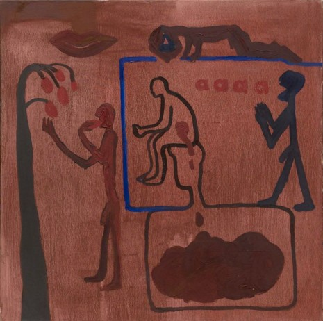 A.R. Penck, Untitled, 1966, Michael Werner