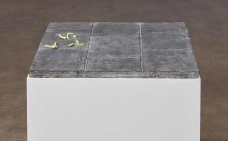 Valentin Carron, Ten French fries a paving, 2016, David Kordansky Gallery