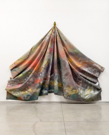 Sam Gilliam, Leaf, 1970, David Kordansky Gallery