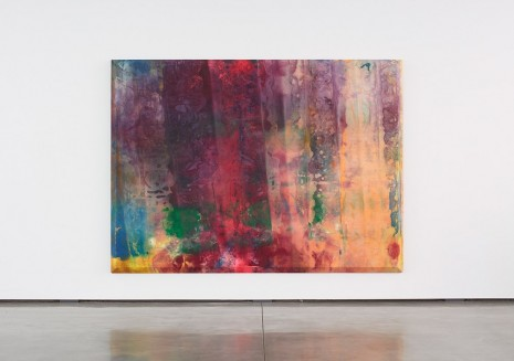 Sam Gilliam, Rose Rising, 1968 , David Kordansky Gallery