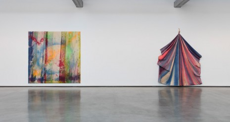 Sam Gilliam David Kordansky Gallery
