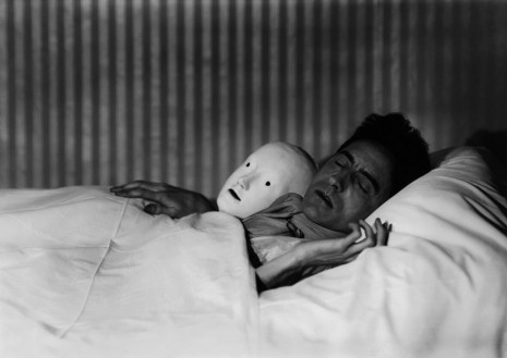 Berenice Abbott, COCTEAU IN BED WITH MASK, PARIS, 1927, Cheim & Read