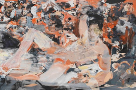 Cecily Brown, RASPBERRY BERET, 2015-16, Cheim & Read