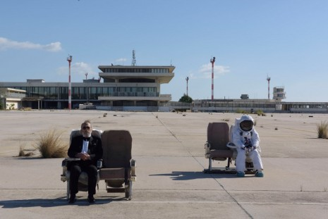 John Akomfrah, The Airport (video still), 2016, Lisson Gallery