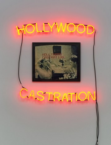 Lew Thomas, Hollywood Castration, 1986, printed 2016, Cherry and Martin