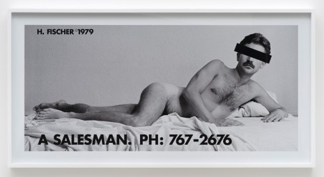 Hal Fischer, A Salesman, 1979, printed 2015, Cherry and Martin