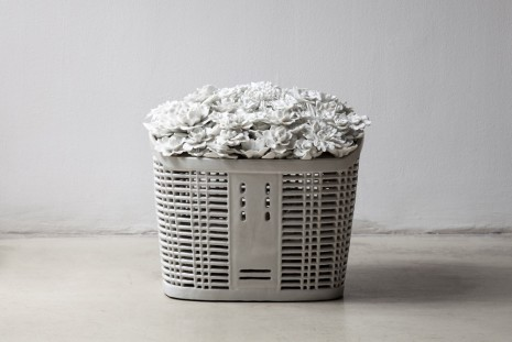 Ai Weiwei, Bicycle Basket with Flowers, 2014 , Galerie Max Hetzler