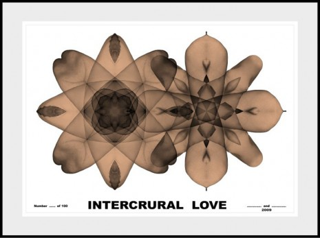 Gilbert & Georges, Intercrural Love, 2009, Galerie Thaddaeus Ropac
