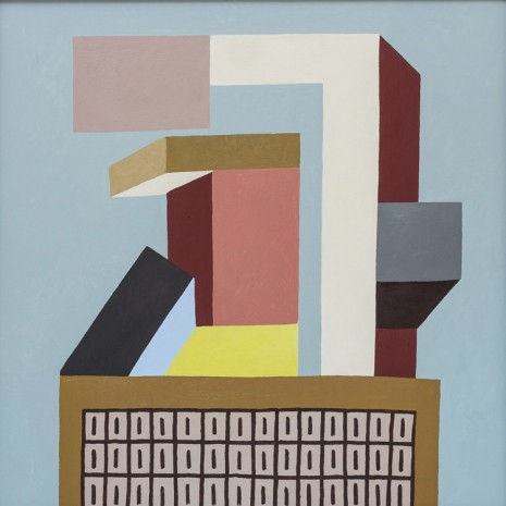 Nathalie Du Pasquier, Untitled (Construction DDD), 2016, Exile