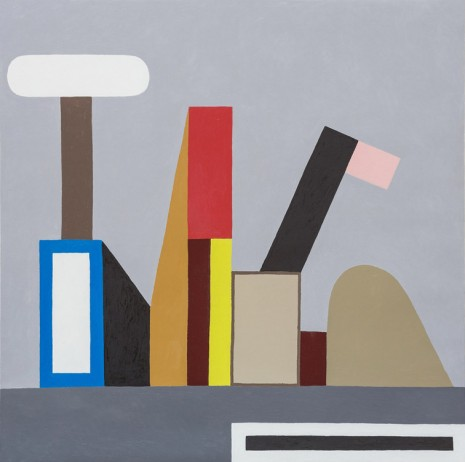Nathalie Du Pasquier, Untitled (Construction FFF), 2015, Exile