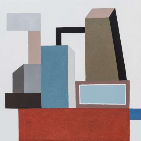 Nathalie Du Pasquier, Untitled (Construction CCC), 2016, Exile