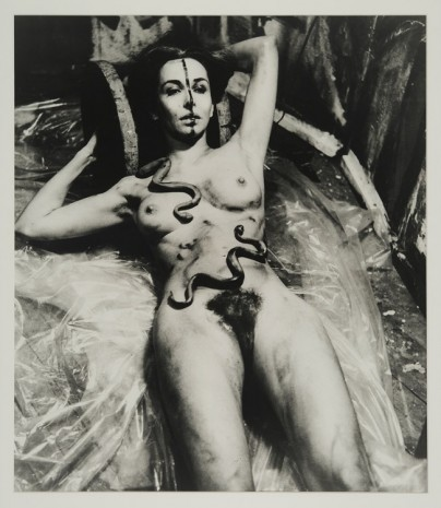 Carolee Schneemann, Eye Body (From 36 Transformative Actions for Camera), 1963/1985, Maccarone