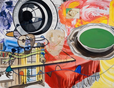 David Salle, Playing, Dreaming, 2015, Lehmann Maupin