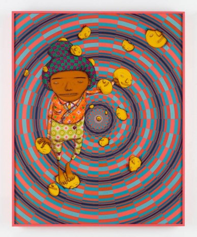 OSGEMEOS, O Sonho Feliz (The Happy Dream), 2016, Lehmann Maupin