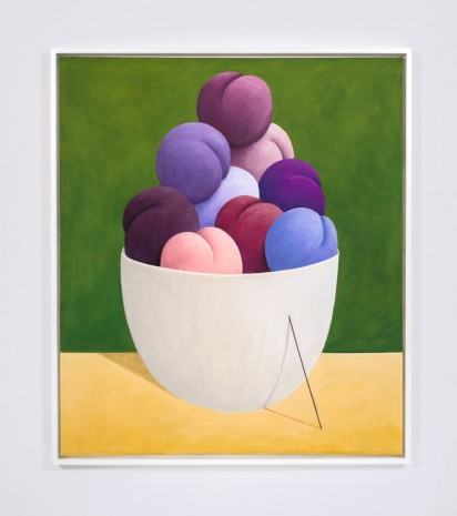 Nicolas Party, Purple Fruits, 2016 , The Modern Institute