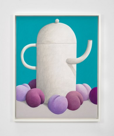 Nicolas Party, Teapot and Purple Fruits, 2016 , The Modern Institute
